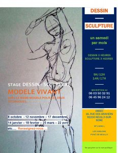 stage dessin sculpture