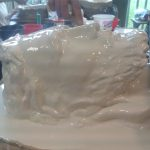 Stage de sculpture Le moulage silicone avec chape en plâtre