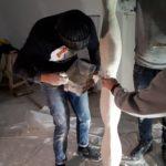 Formation au plâtre cours de sculpture AntoniA