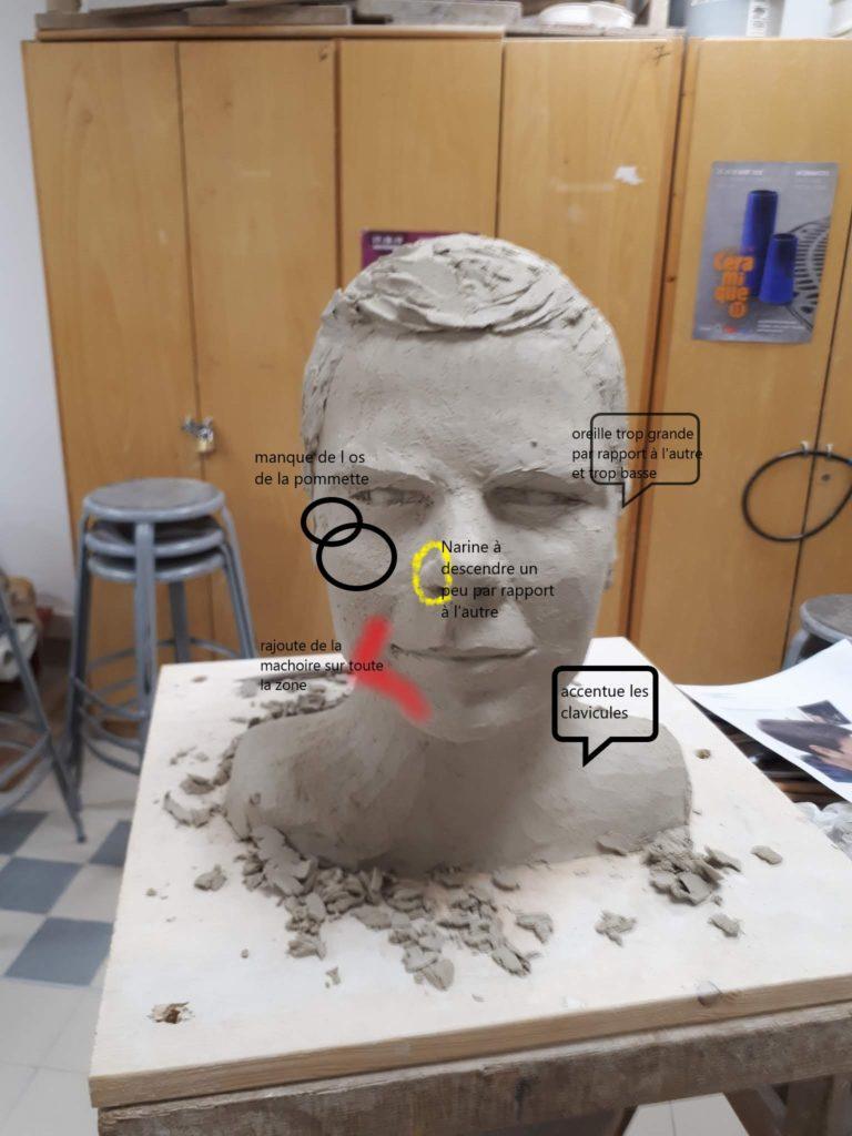 cours de sculpture en ligne cours sculpture antonia