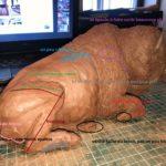 cours de sculpture en ligne Damien