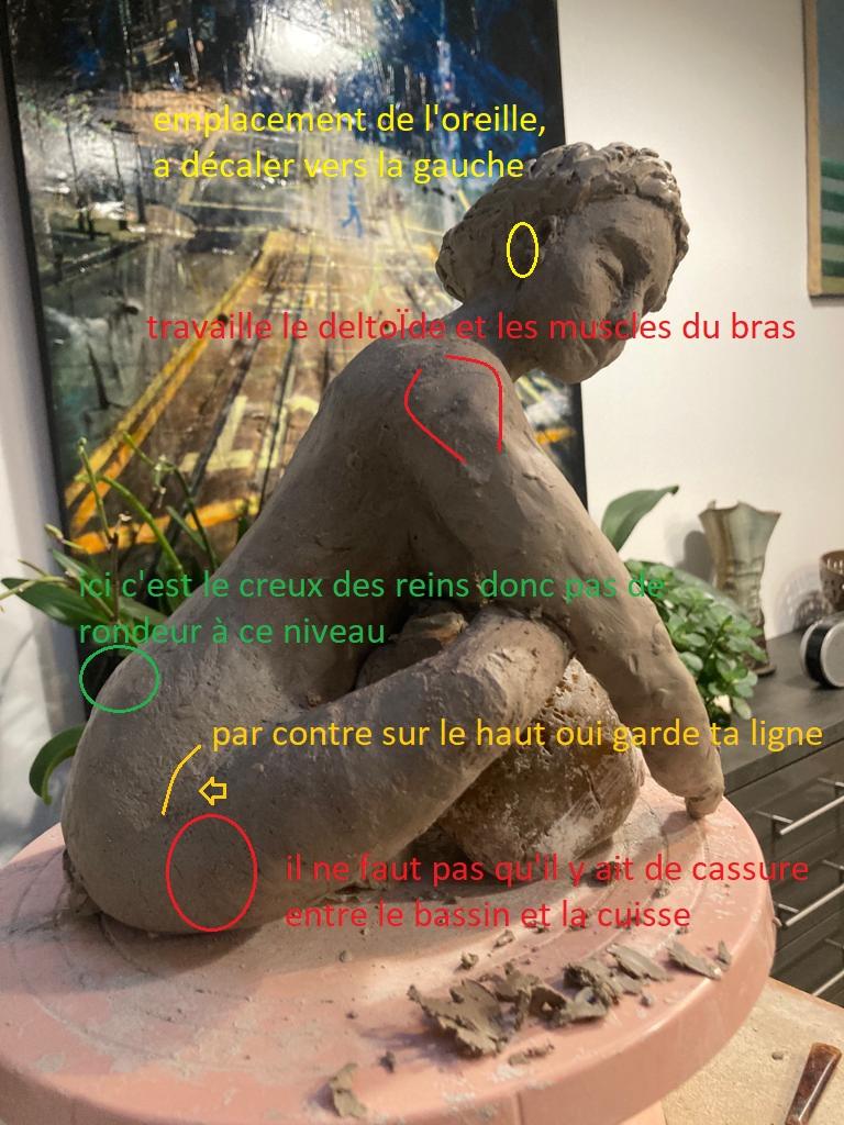 cours sculpture antonia en ligne